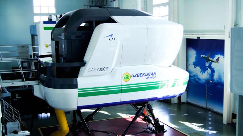 Полнофункциональный тренажёр самолёта Airbus 320 с двигателями CFM-56