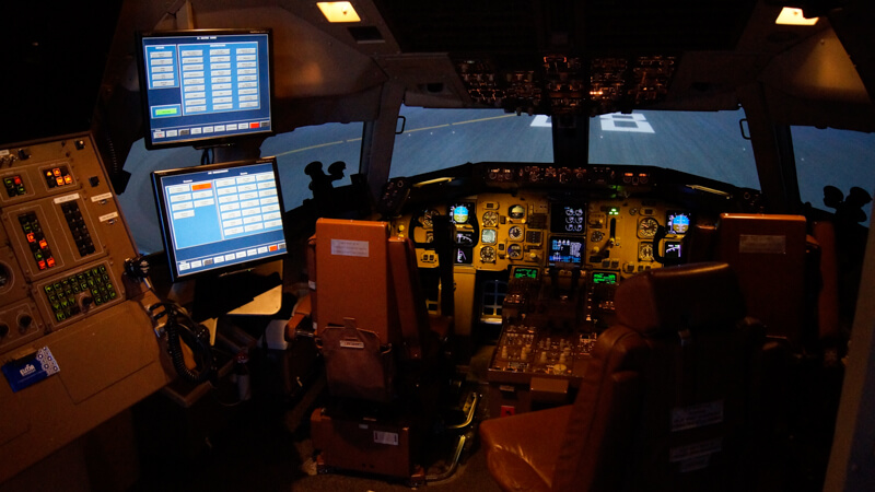 Boeing 767-300 Full Flight Simulator Interior