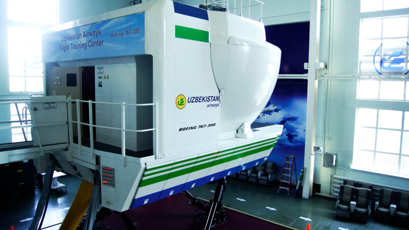 Boeing 767-300 Level D Full Flight Simulator, Engine option PW-4060