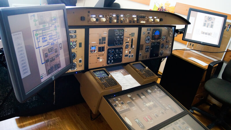 Virtual Procedure Trainer Boeing 767-300