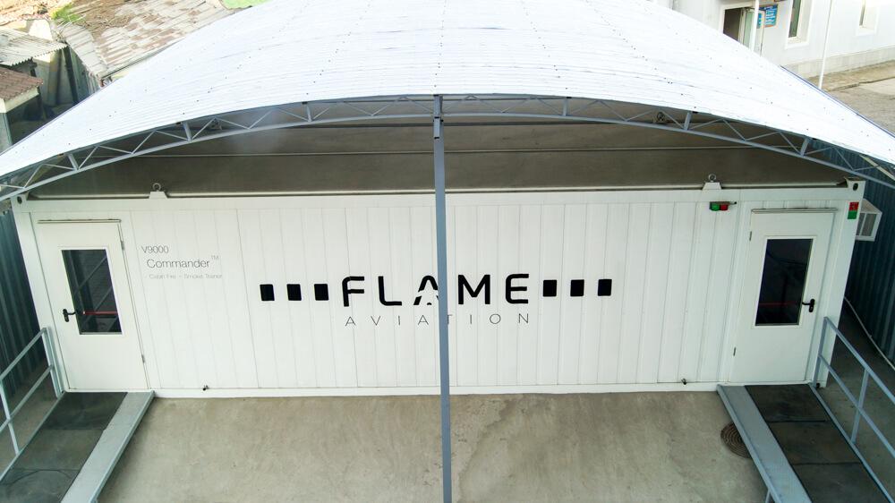 Комплексный тренажёр по отработке навыков пожаротушения